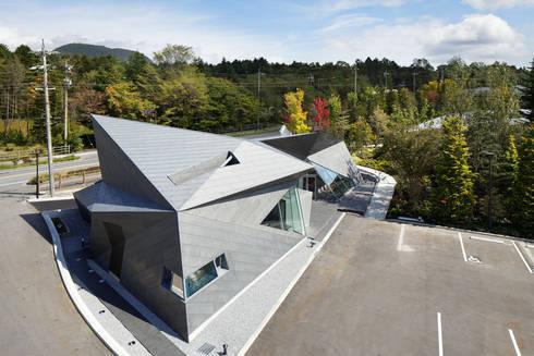 俯瞰全景: 株式会社 安井秀夫アトリエが手掛けた美術館・博物館です。