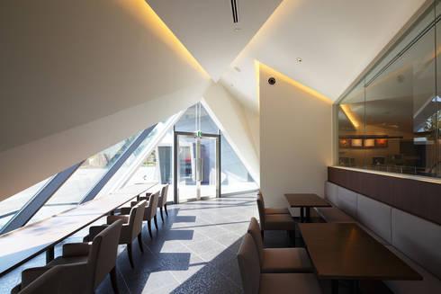 イートインスペース: 株式会社 安井秀夫アトリエが手掛けた美術館・博物館です。