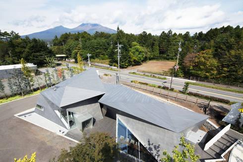 俯瞰全景2: 株式会社 安井秀夫アトリエが手掛けた美術館・博物館です。