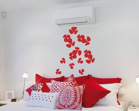 Wall stickers adesivi per pareti di decoramo homify for Rotoli adesivi per pareti