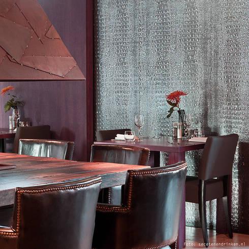 WallFace 13521 CROCO Design Wandpaneel Platte 3D Struktur Blickfang Dekor  Selbstklebende Tapete Schwarz Silber | 2,61 Qm