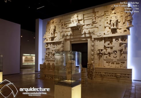 GRAN MUSEO DEL MUNDO MAYA :  de estilo  por Grupo Arquidecture