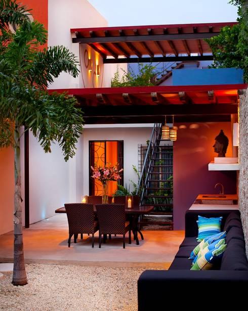 Terraza: Terrazas de estilo  por Taller Estilo Arquitectura