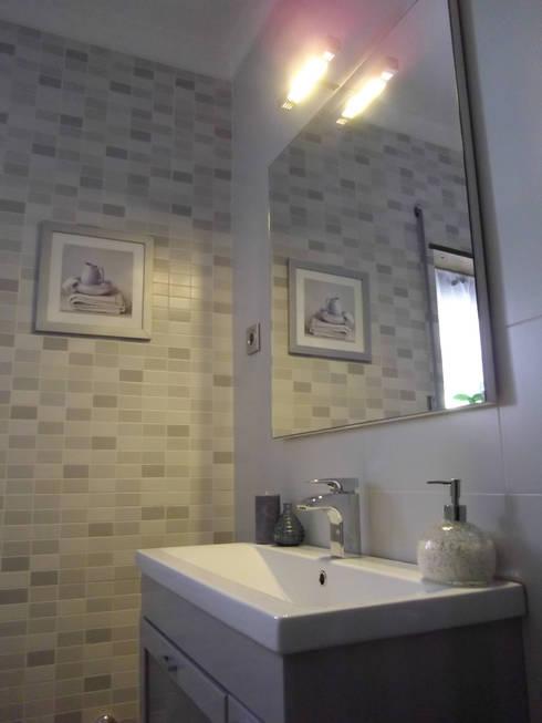 WC WINTER:  Bathroom by ANDRE VENTURA DESIGNER