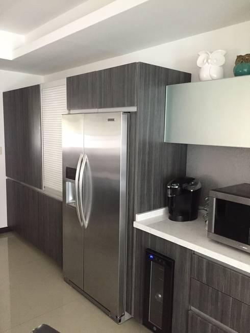 cocinas de estilo minimalista por fabr - Cocina Minimalista