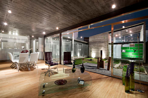 casa DAUZ: Salas de estilo moderno por NonWarp