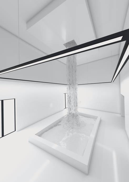 HALL TOILETTE: Hotel in stile  di FRANCESCO GENNARO Interior Design