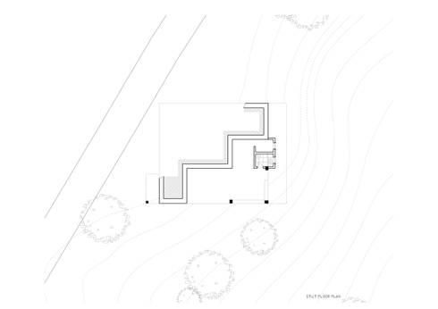 Stilt floor plan:   by M+P