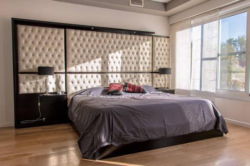 Metamorfosis arquitectònica: viejo espacio/nuevo uso: Dormitorios de estilo moderno por LEBEL