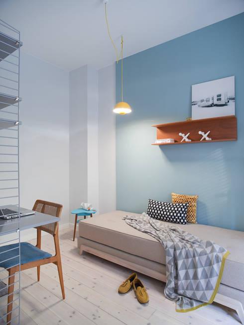guest room:  Wohnzimmer von VINTAGENCY