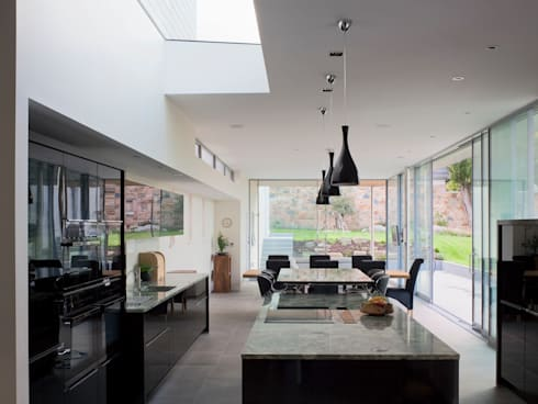 Orchard Hill: modern Living room by JAMIE FALLA ARCHITECTURE