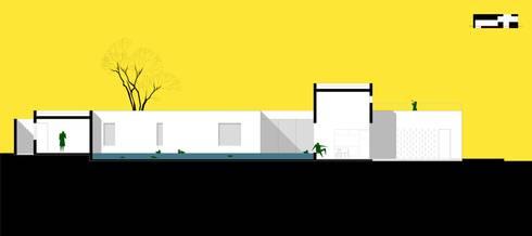 Casa Mandarim: Casa  por AUÁ arquitetos