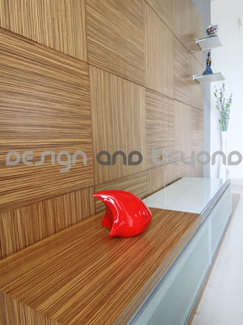 Residential interior Design for Young Couple.: modern Houses by Design and beyond