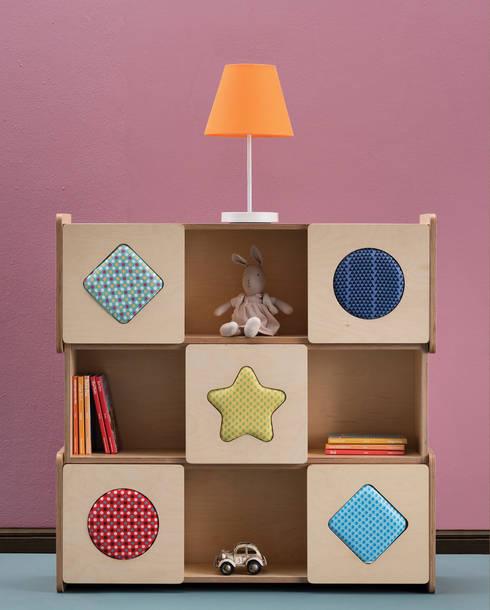 Projekty,  Pokój dziecięcy zaprojektowane przez 쿤(KOON)