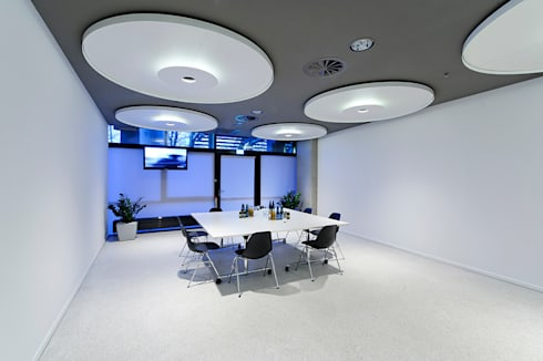 Architekturfotografie München business area olympiahalle münchen by andreas j focke