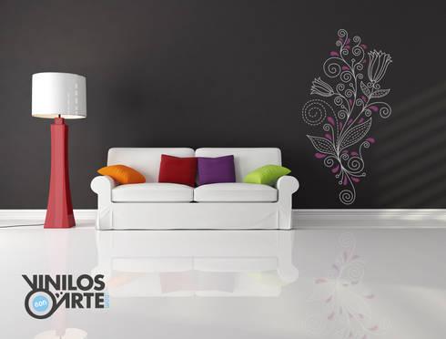 De vinilos con arte homify - Vinilos con arte ...