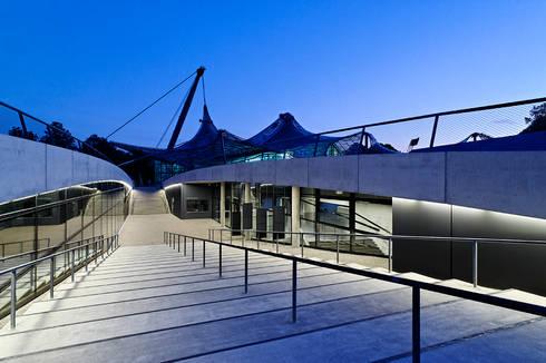 Architekturfotografie München neue kleine olympiahalle münchen by andreas j focke