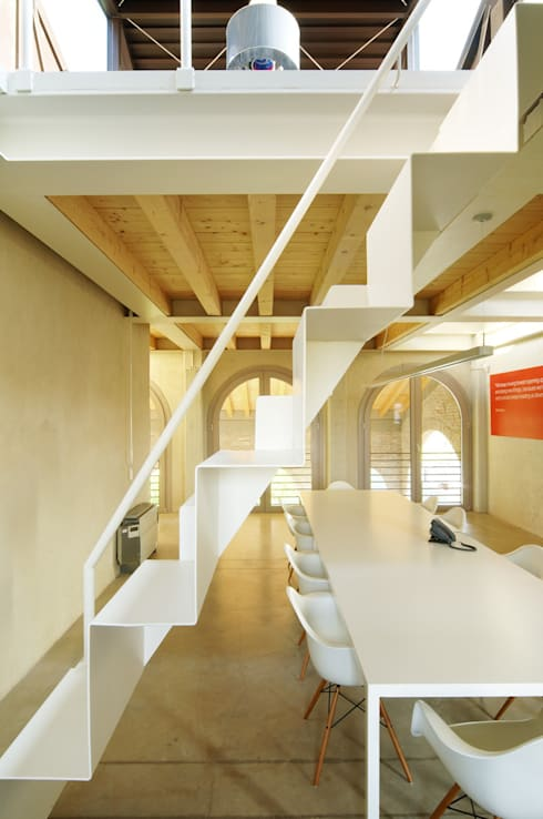Estudios y despachos de estilo moderno de zanon architetti associati