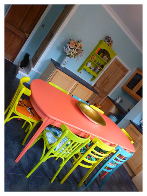 Kitchen, Leeds: eclectic Kitchen by Crow's Nest Interiors