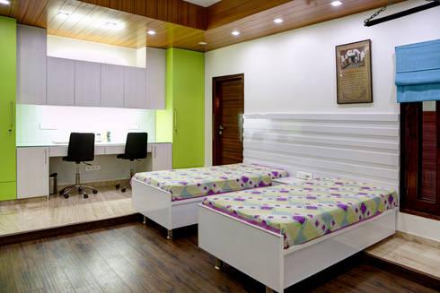 Kid's Bedroom: modern Houses by Studio An-V-Thot Architects Pvt. Ltd.