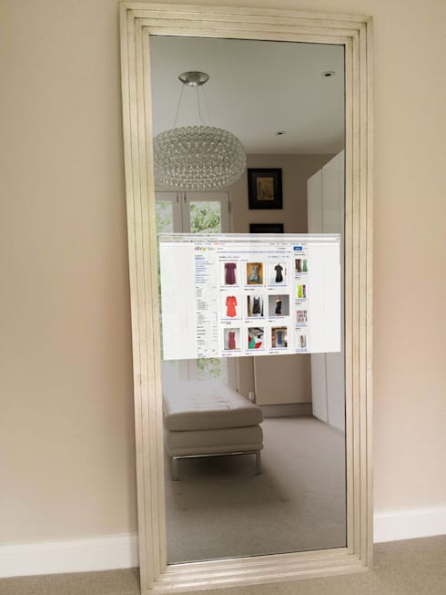 TV Mirrors: classic Living room by Overmantels