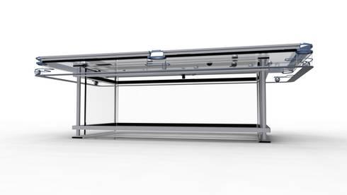G7 Glass Pool Table