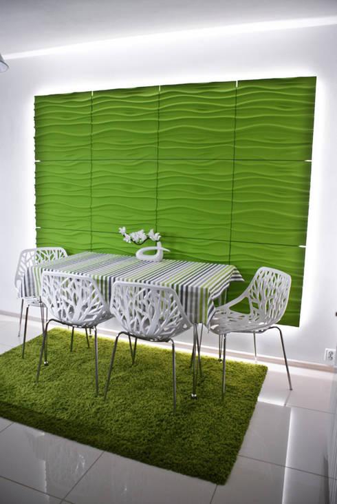 Salas de jantar modernas por Loft Design System Deutschland
