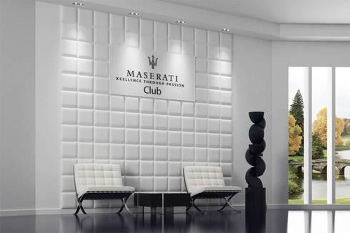 Dekorative 3d wandpaneele loft design system von loft for Dekor international pt