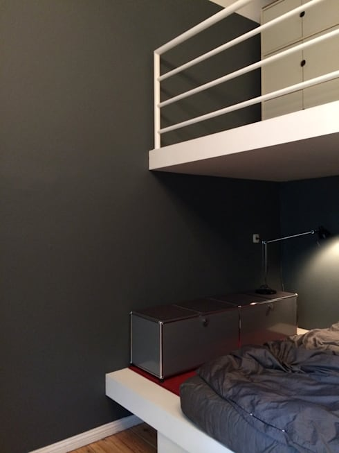 schlafzimmer von bluegray design farrow ball u pure. Black Bedroom Furniture Sets. Home Design Ideas
