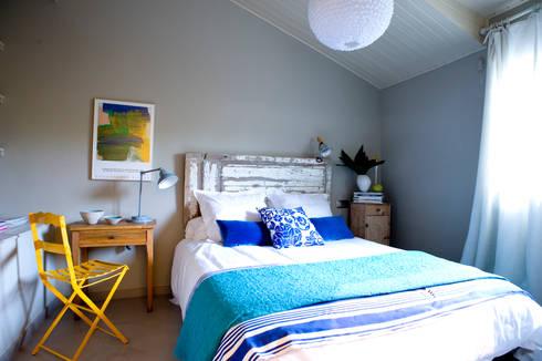 A74. CASA. : Dormitorios de estilo clásico de BONBA studio