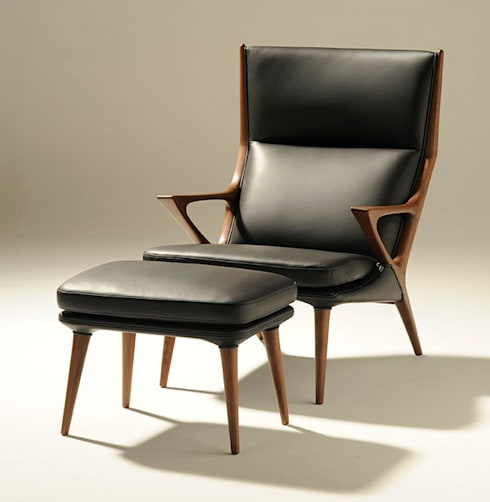 CREER PERSONAL CHAIR: PRIME DESIGN OFFICEが手掛けたリビングルームです。