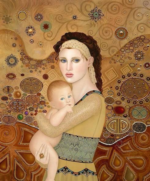 Motherhood :  Artwork by SHEEVIA  INTERIOR CONCEPTS