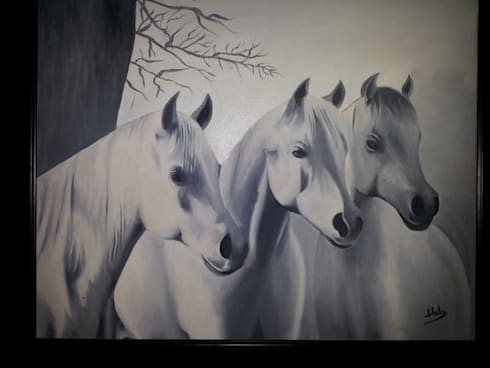 Arabian night:  Artwork by SHEEVIA  INTERIOR CONCEPTS