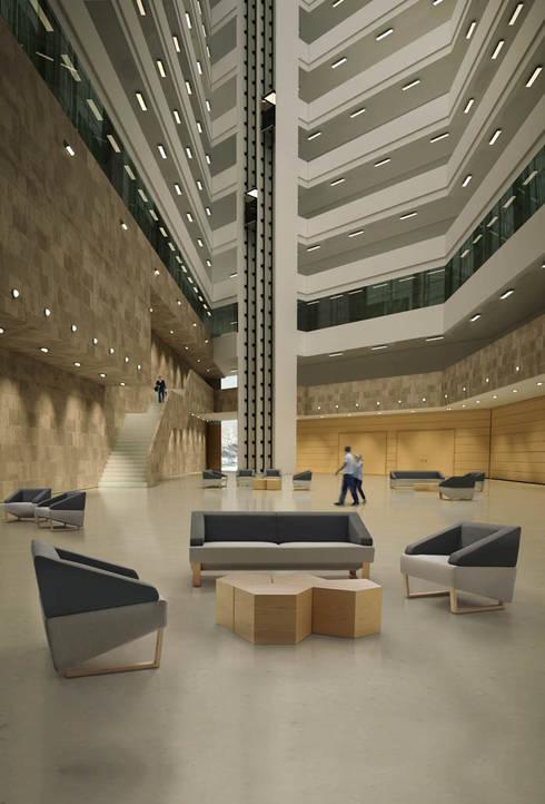 LOOK by Gallega Design: Salones de estilo moderno de Gallega Design