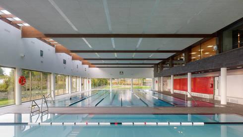 Complejo deportivo en oleiros a coru a de naos - Arquitectura de interiores coruna ...