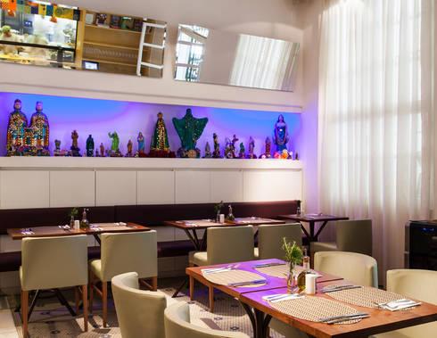 Restaurante Santinho: Espaços gastronômicos  por MarchettiBonetti+