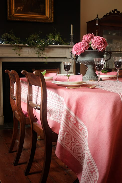 Hungarica :: Tablecloth: classic Dining room by Julia Brendel Limited
