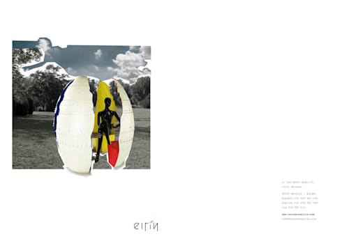 4 EGG: Hogar de estilo  de Universo Eirín s.l.u