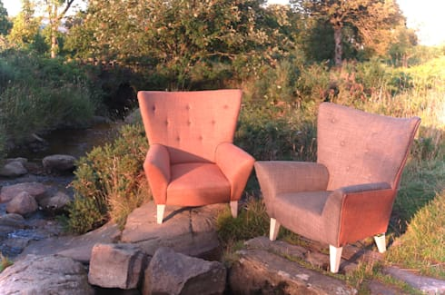 Aire Dale chair:  Living room by handmade