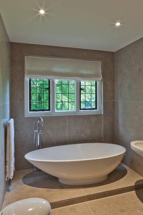 Heritage Bronze Casements with Leaded Lights:  Windows & doors  by Architectural Bronze Ltd