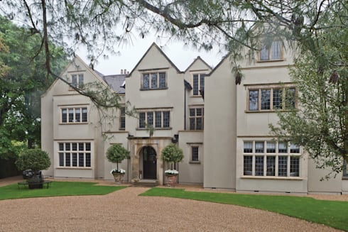 Heritage Bronze Casements with Applied Lead:  Windows & doors  by Architectural Bronze Ltd