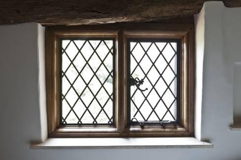 Heritage Bronze Casements in Timber Frames:  Windows & doors  by Architectural Bronze Ltd