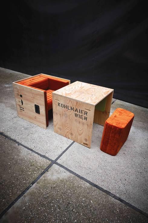 Journey Chair, ein Möbelstück gegen den Verpackungswahn!:  Wohnzimmer von airture
