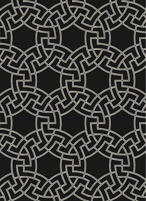 MICA Zen - Black Luxury Range:  Walls & flooring by Mica Gallery Ltd