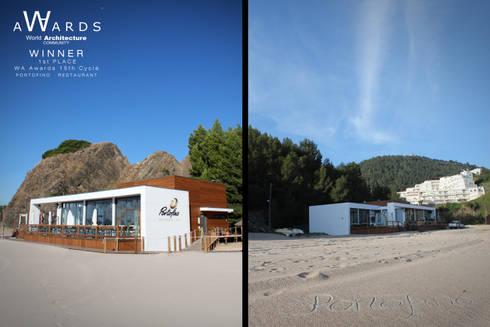 Restaurante Portofino: Espaços gastronômicos  por SPL - Arquitectos