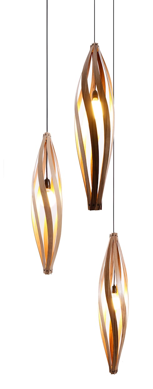 Cocoon Pendant light: modern Living room by MacMaster Design