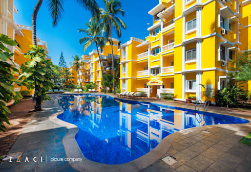 The Pool:  Hotels by Zaaci Picture Company