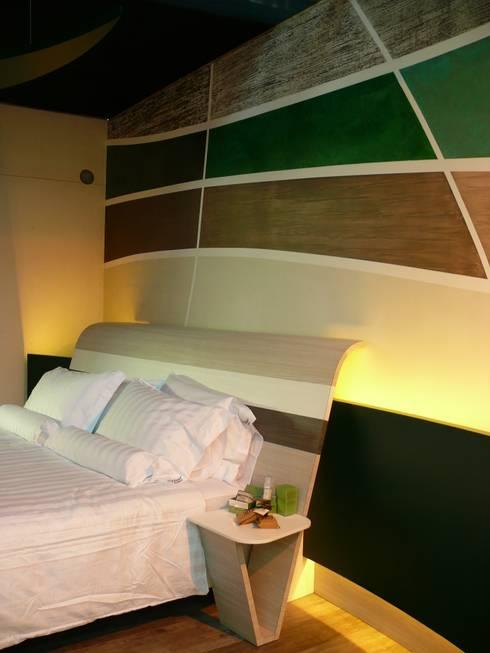 غرفة نوم تنفيذ Studio Stefano Pediconi