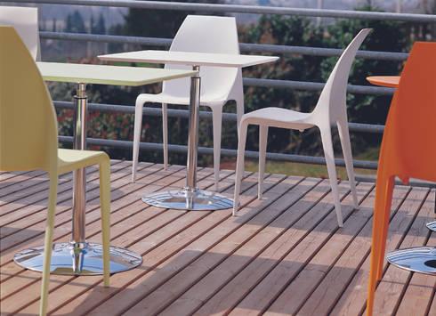 Beluga Plastic Chair: 吉野 利幸が手掛けたです。