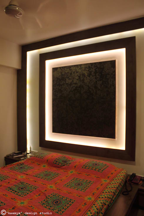 Son's bedroom_wall panelling:   by kaamya design studio
